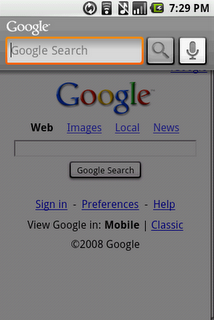 android google voice search