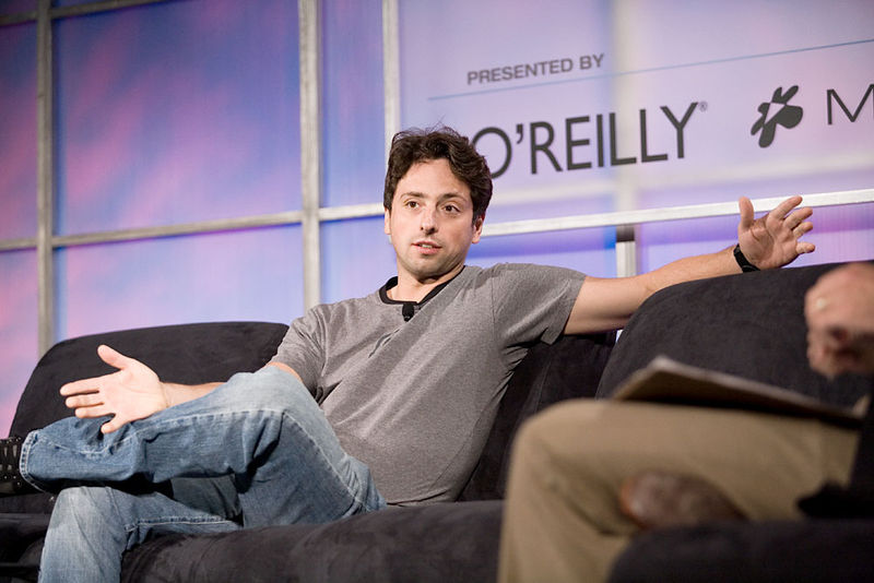 sergey brin gphone android