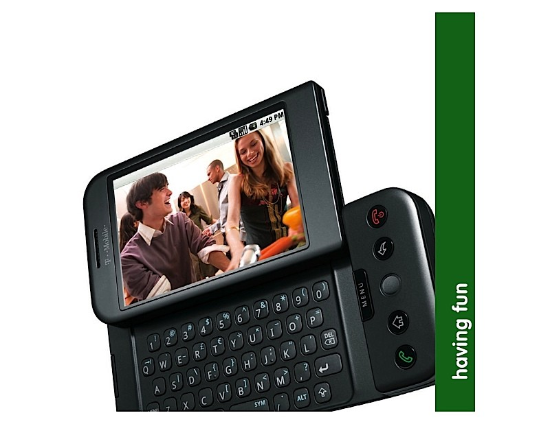 HTC Dream G1 manuel utilisation